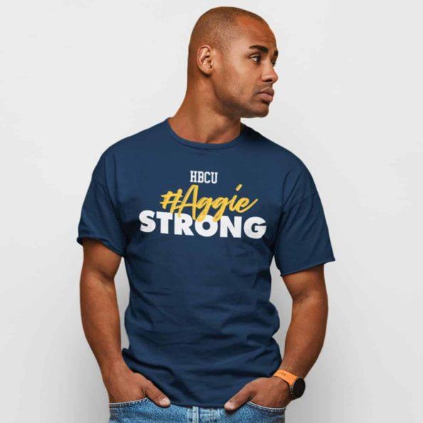 Aggie-Strong-Men's-T-shirt
