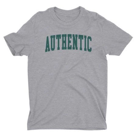 Authentic T-Shirt Athletic Grey