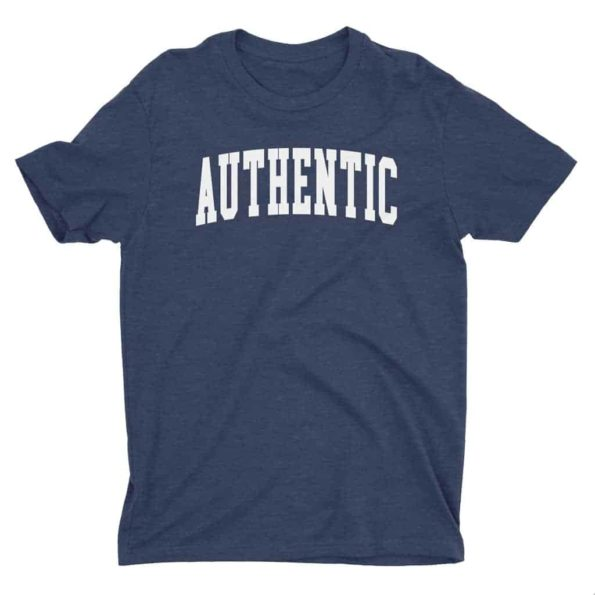 Authentic-T-Shirt-Heather-Navy