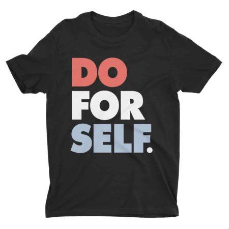 Do For Self T-Shirt Black