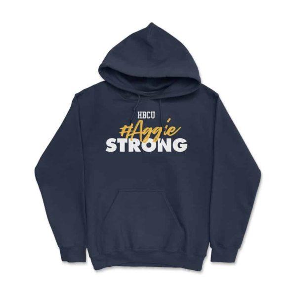 HBCU-Aggie-Strong-Hoodie-Navy