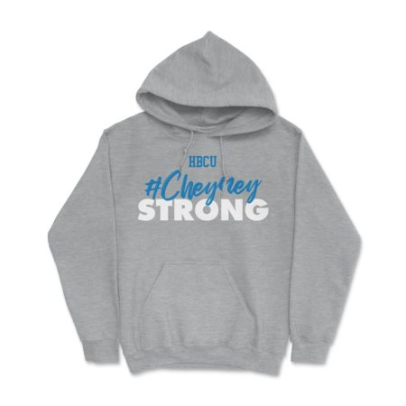 HBCU Cheyney Strong Hoodie Athletic Grey