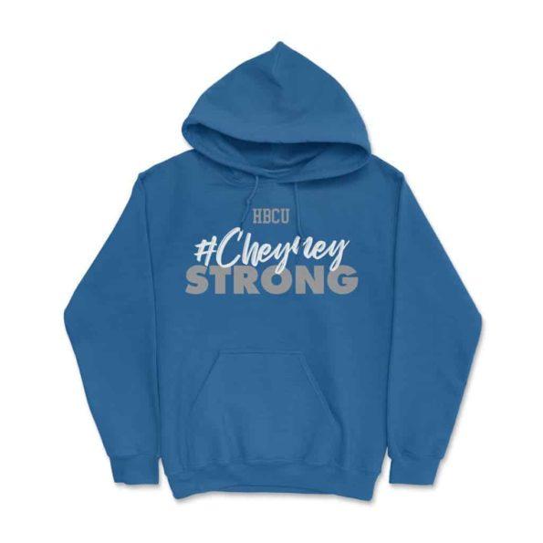 HBCU Cheyney Strong Hoodie Royal Blue