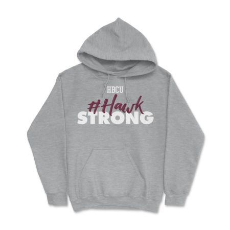 HBCU Hawk Strong Athletic Grey