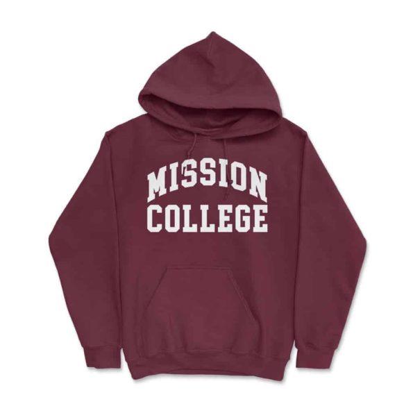 Mission-College-Hoodie-Maroon