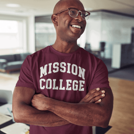 Mission College Mens t-shirt Alumni