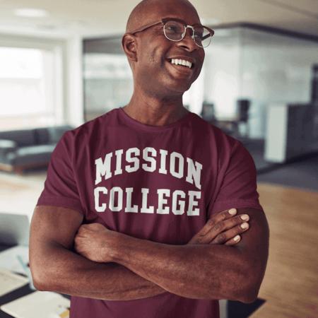 Mission College Mens t-shirt Alumni