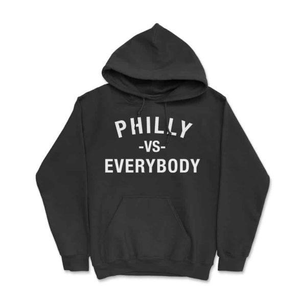 Philly-Vs-Everybody-Hoodie-Black