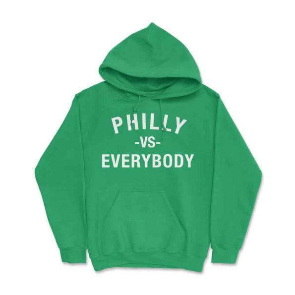 Philly-Vs-Everybody-Hoodie-Kelly-Green