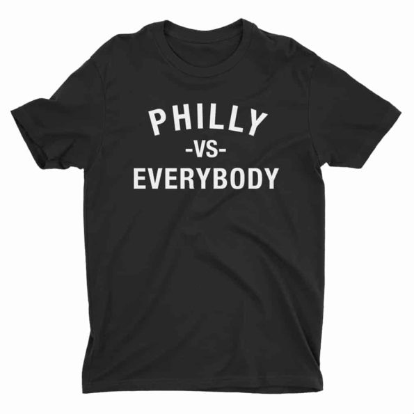 Philly-Vs-Everybody-T-Shirt-Black