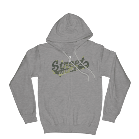 Street-Fatigues-Camo-Zip-Up-Hoodie Athletic Grey