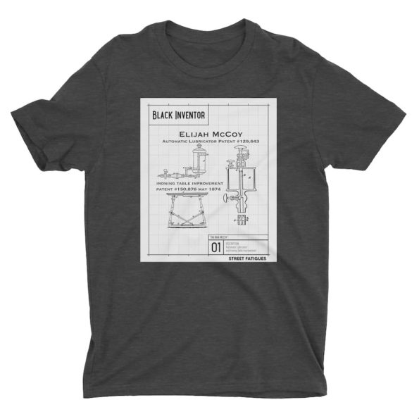 Elijah-McCoy-Black-Inventor-Dark-Heather-Grey-T-Shirt